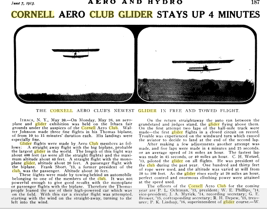 photo of an Aero and Hydro article